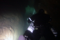 Tye's Tunnel - Vertical descent
