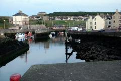Eyemouth - looking at the inner harbour