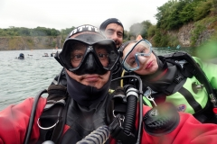 Another selfie before our dive