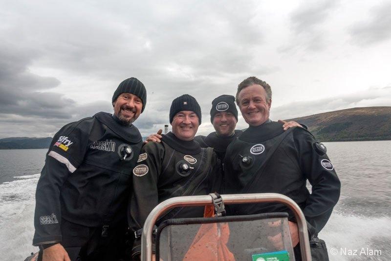 Loch Fyne: Day 1 Crew