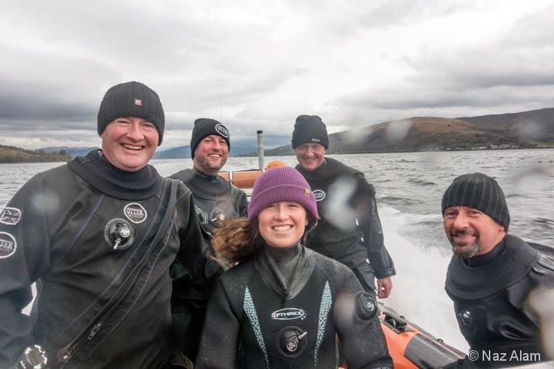 Loch Fyne: Day 2 Crew